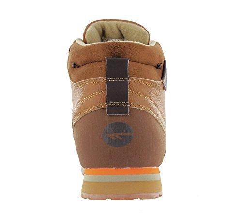 Hi-tecsagan-mid-camel - Tiempo Libre Hombre Braun (braun-orange)