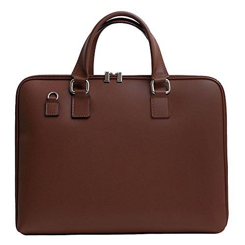 65340cfb6ad5f Echtleder Laptop Handtasche Passen 14 oder 15 Zoll. Aktentasche unisex  hergestellt in Italien. Herren Laptoptasche
