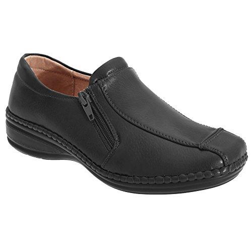 Boulevard - Chaussures décontractées - Femme Noir
