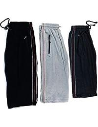 Drp Shoppings Set Of 3 (Multi Color)-Men's Cotton Zip 3/4 Th Shorts-Free Size
