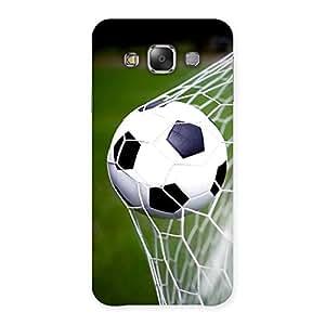Cute Goal Green Back Case Cover for Galaxy E7