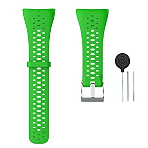 WEINISITE Bracelet for Polar M400 / Polar M430, Adjustable Spare Bracelets for Polar M400 / Polar M430 (Green)