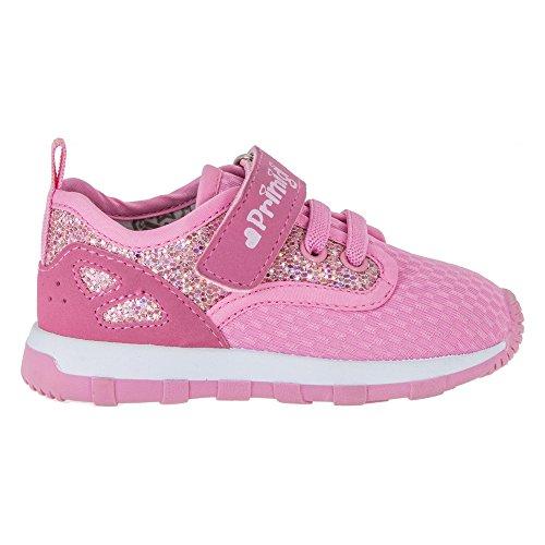 PRIMIGI 72572 sneakers scarpe PRIMI PASSI in pelle bambina rosa con velcro (24)