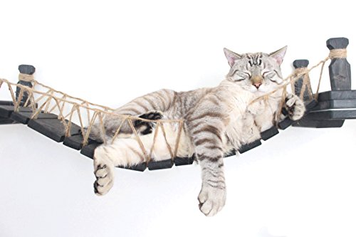 CatastrophiCreations Die Katze Mod–Wandmontage Katze aus Holz Brücke für die Katzen zu spielen und Lounge