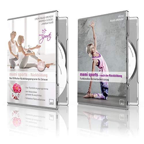 Die große mami sports Box: 10 Wochen Rückbildungsprogramm + Funktionelles Beckenbodentraining nach der Rückbildung - Mami-box