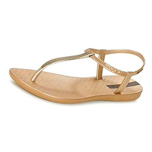 5a87cd678860f0 Ipanema Premium Exclusive Flip Flops Mujeres Sandalias -Gold-38
