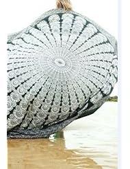 WDBS Serviettes de plage en plein air / serviettes de plage châle d'été / cadeaux de voyage