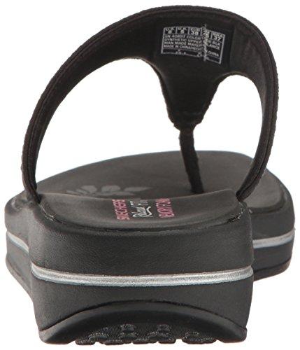 A Colore T pietre Donna nero Skechers Cinghia Con Di Aggiornamenti SxI6w7F7n1