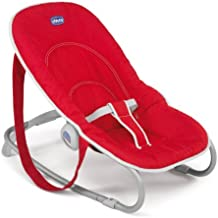 Chicco- New Sdraietta Easy Relax, Colore: Red
