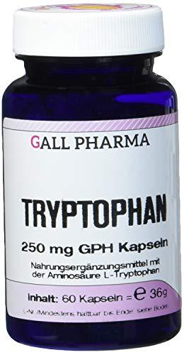 Gall Pharma Tryptophan 250 mg GPH Kapseln 60 Stück -