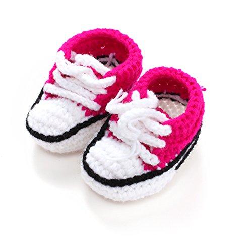 acvip-baby-madchen-strickschuhe-babyschuhe-mit-schnursenkel-weiss-und-rosenrot