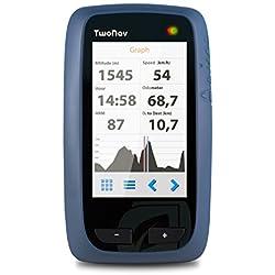 TwoNav - GPS de mano Anima para Gran Bretaña (OS, mapa 1:50000), color azul/negro