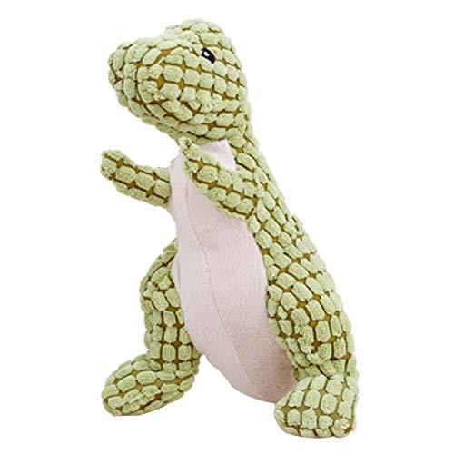 Monbedos - Cuerda para Perro (1 Unidad), diseño de Dinosaurio de algodón
