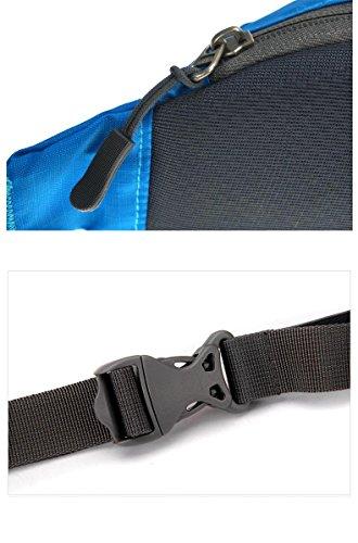 Super Licht Multifunktions-tragbare Reise Reiten Sport Wasserdichte Taschen Blue