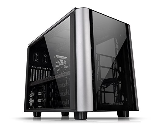 Thermaltake Level 20 XT PC-Gehäuse Cube Case, schwarz/silber