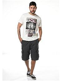 Deeluxe Harold - T-shirt - Imprimé - Manches courtes - Homme