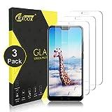 CRXOOX 3 Stück Panzerglasfolie für Huawei Honor 10 9H Panzerglas Schutzfolie Anti Kratzen Ohne Bläschen Bildschirmschutzfolie Blasenfrei Einfache Montage für Huawei Honor 10 Transparent