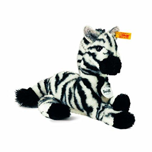 Steiff 087844 - Zina Zebra 24, schwarz/weiss