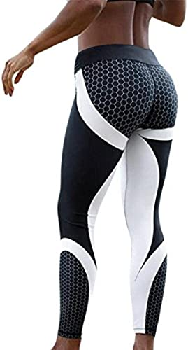 Damen Hosen, Cooljun Frauen Leggings Hose Yogahose Sport-Leggings Jogginghose 3D Printed Strumpfhose Leggins Hose...