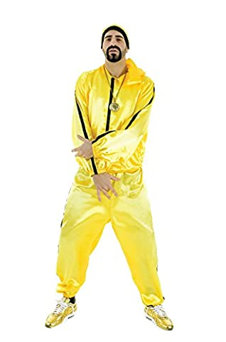 Ali G Rapper Yellow Tracksuit By Celebration Central