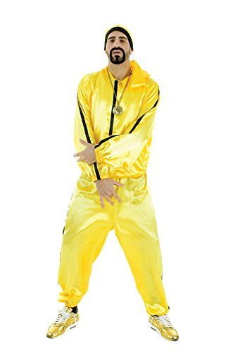 Ali G Rapper Yellow Tracksuit - low cost costume