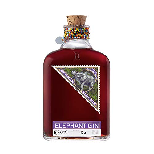 Elephant Sloe Gin- preisgekrönter Schlehenlikör auf Gin-Basis (1 x 0.5 l)
