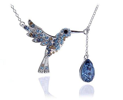 silvity-damen-kolibri-kette-veredelt-mit-einem-swarovskir-kristall-steinfarbeblau-42cm-903103-20