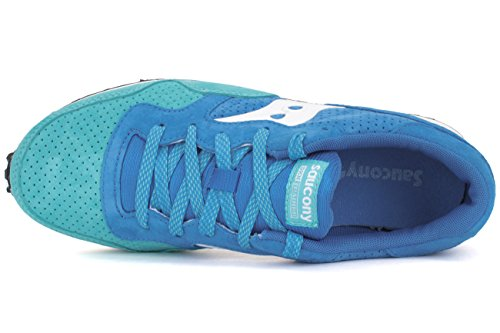 SAUCONY ORIGINALS - Dxn Trainer Premium, Scarpe sportive Unisex – Adulto Blu/turchese/bianco