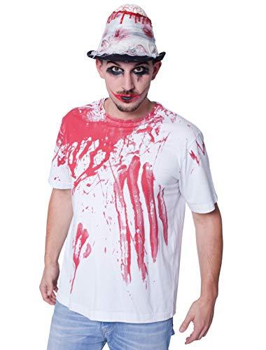 T-Shirt Halloween blutig Herren S (T-shirt Blutige Halloween)
