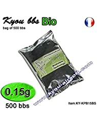 Kyou - KPB BIO 0.15g white - bag of 500 bbs