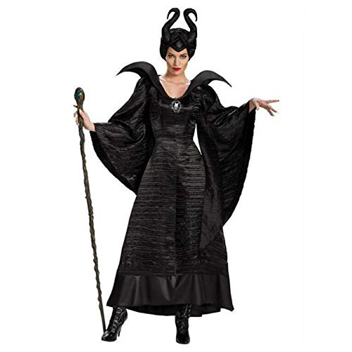 Herren Teufel Kostüm Plus Size - ERFD&GRF Plus Size Märchen Schwarz Dornröschen