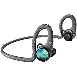 Plantronics BACKBEAT FIT 2100 Bluetooth - Écouteurs sportifs, intra-auriculaires, gris