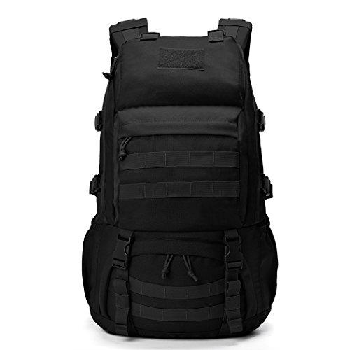 Imagen de mountaintop 40l  militar /táctica molle / acampada /camping /senderismo/ deporte/ backpack de asalto patrulla negro  alternativa