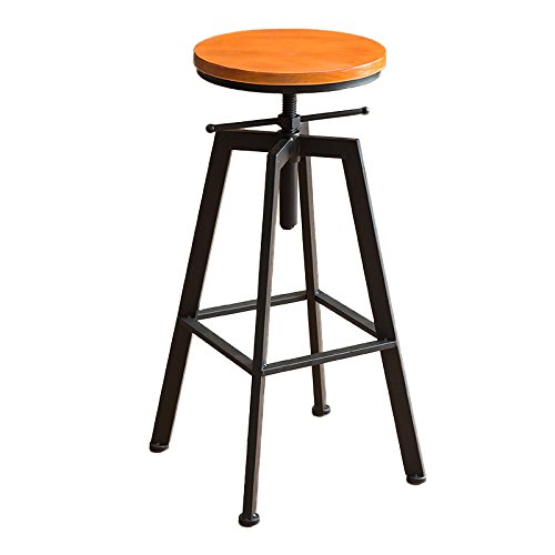 ASL Retro Bügeleisen Stuhl Lift Bar Stuhl, Haushalt Bar Hocker Hocker Bar Counter Coffee Shop Hochstuhl Bar Counter Chair Restaurant Shop Freizeit Chair 62-82cm Neu ( Farbe : #1 )