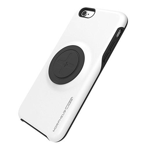 Morpheus Labs M4 BikeKit Case - Coque pour iPhone 6 / 6S - pour supports M4 - design mince - construction double et robuste - protection supérieure - magnétique - fonction stand orange [Orange] blanc