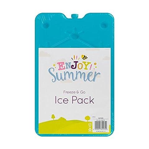 Freeze & Go Ice Block Pack 600g verwendbar, kühlt & hält Frische