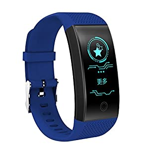 RL Smart-Armband mit Herzfrequenz-Monitor, IP68, wasserdicht, Farbdisplay, Fitness-Tracker, Bluetooth 4.0, Sportarmband