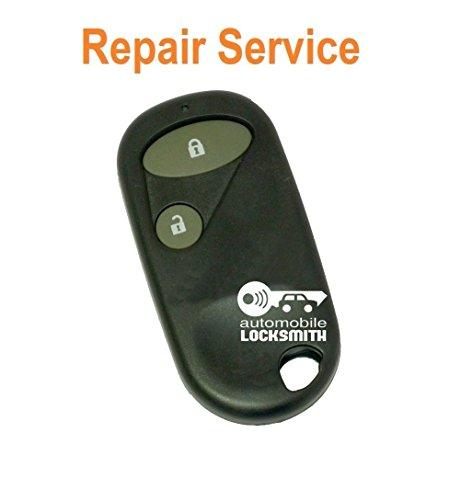 Reparatur-Set für Jazz Gutschein für Honda Accord, CR-V, Civic, FR-V, 2 HRV S2000 Knopf Wecker Schlüsselanhänger key Modernisierung (Accord Alarm Honda)