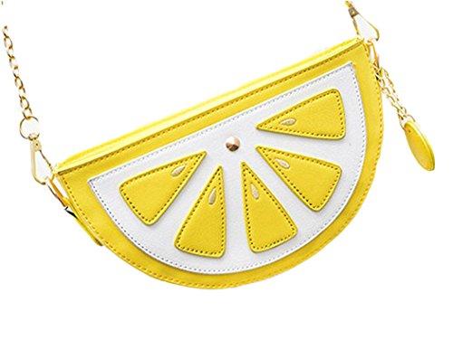 Zitrone / Wassermelone Tasche - Süsse Umhängetasche für Mädels und Junggebliebene ;) Zitrone
