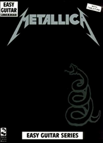 Metallica: (black): Easy Guitar and Vocal (Play it Like it is)