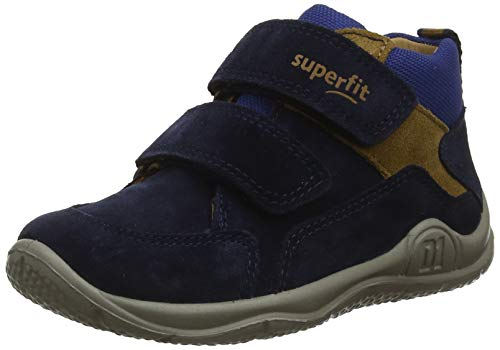 Superfit Baby Jungen Universe Sneaker, Blau 80, 24 EU (Sneaker Jungen Braune)