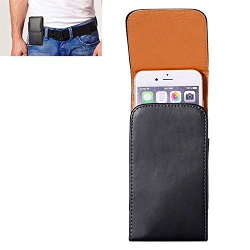 Für iPhone 4,7 Zoll Fall, Für iPhone 6 & 6S Crazy Horse Textur Vertical Flip Ledertasche / Gürteltasche mit Rückenschiene (4,7 Zoll)