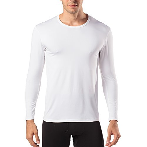 LAPASA Camiseta Térmica, PACK de 2 Manga Larga para Hombre. -Brushed Back Fabric Technique-