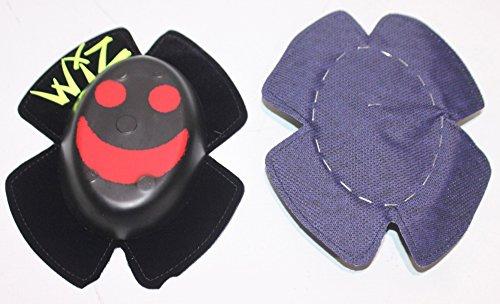 Preisvergleich Produktbild WIZ Sparky funkende Knieschleifer - Smily rot auf schwarz