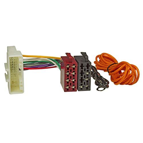 tomzz Audio 7038-001 Radio Adapter Kabel passend für Nissan ab 2007, Infiniti auf 16pol ISO Norm