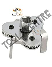 TOOLSCENTER Three Leg Two Way Oil Filter Wrench Car Universal Adjustable Remover Socket