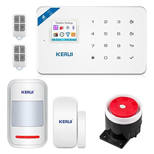kerui Scheintasche W18GSM Home Alarm System DIY Kits Diy Wireless-alarm-kit