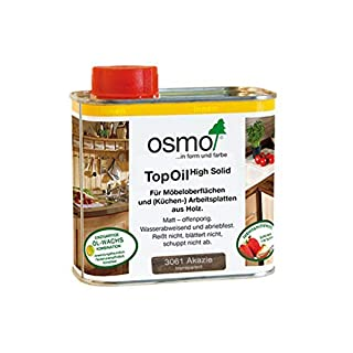Osmo 3061 0.5 Litre Top Oil - Acacia