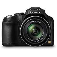 Panasonic LUMIX DMC-FZ72EG-K Premium-Bridgekamera (16,1 Megapixel, 60x opt. Zoom, 7,5 cm LC-Display, elektr. Sucher, Full HD Video) schwarz