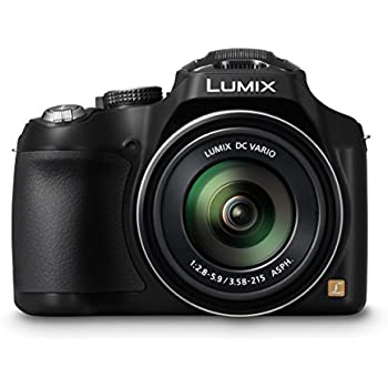 "Panasonic Lumix DMC-FZ72EG-K - Cámara compacta de 16.1 Mp (pantalla de 3"", zoom óptico 60x, estabilizador de imagen óptico), negro"